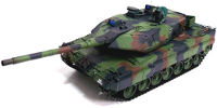 German Leopard 2 A6 Airsoft RC Battle Tank 1:16 with Smoke 2.4GHz (нажмите для увеличения)