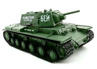 Russian KV-1 Ehkranami Airsoft RC Battle Tank 1:16 RTR