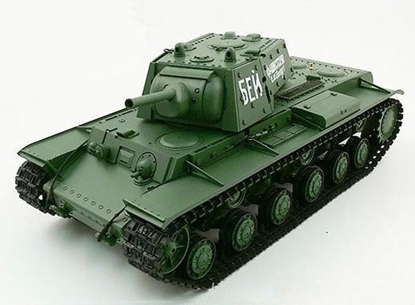 Радиоуправляемый танк HengLong Russian KV-1 Ehkranami Airsoft RC Battle Tank 1:16 2.4GHz (HL3878-1) (нажмите для увеличения)