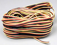 3 Color Heavy Duty Servo Wire 1m