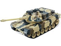 HouseHold M1A2 Abrams Yellow 1:20 Airsoft Tank 27MHz (нажмите для увеличения)