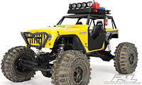 Jeep Wrangler Rubicon Customized Crawler Clear Body Wraith