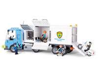 Cobi Action Town. Police Mobile Command Center (нажмите для увеличения)