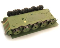 Heng Long King Tiger Plastic Lower Hull with Wheels (нажмите для увеличения)
