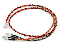 Axial 2 LED Light String Red
