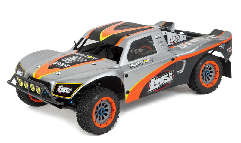 Радиоуправляемая машина Losi 5IVE-T 1/5 Short Course Truck 4WD with AVC 2.4GHz RTR (LOS05002) (нажмите для увеличения)