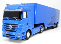 Mercedes-Benz Actros Heavy Truck Blue 1:32