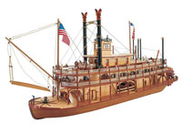 Artesania Latina King of the Mississippi Wooden Model Ship 1/80