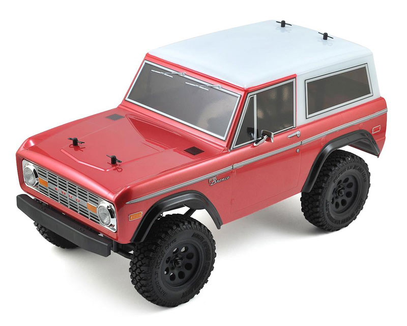 Радиоуправляемая машина MST CMX Ford Bronco 4WD Rock Crawler 2.4GHz RTR (MST-531501) (нажмите для увеличения)