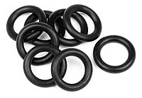 O-Ring 7x11x2.0mm Black 8pcs