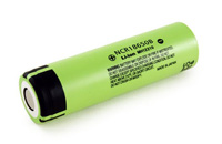 Panasonic NCR18650B LiIon 3.6V 3400mAh Rechargeable Batterie (нажмите для увеличения)