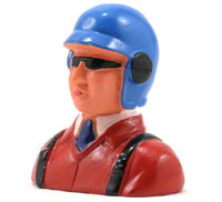 Hangar 9 Pilot Figure with Helmet, Glasses & Tie 1/9 (нажмите для увеличения)