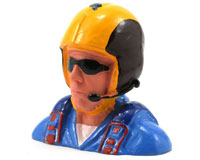 Hangar 9 Civilian Pilot Figure with Aerobatic Helmet, Mic & Sunglasses 1/4 (нажмите для увеличения)