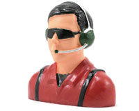 Hangar 9 Civilian Pilot Figure with Headets, Mic & Sunglasses 1/4 (нажмите для увеличения)