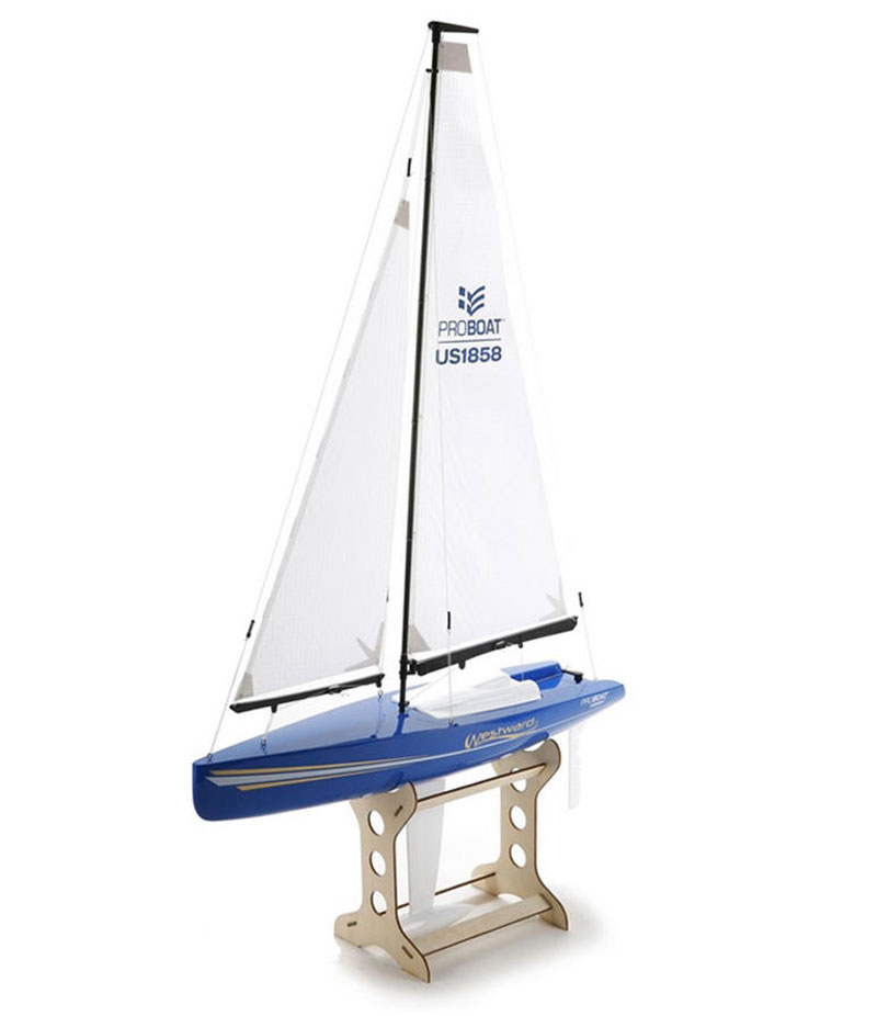 Радиоуправляемая яхта ProBoat Westward V2 18-inch Sailboat 460mm 2.4GHz RTR (PRB07002) (нажмите для увеличения)