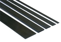 Carbon Profile 0.5x10x1000mm 1pcs