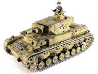 Dak PZ.Kpfw. IV Ausf. F-1 Airsoft RC Tank 1:16 PRO with Smoke 2.4GHz (нажмите для увеличения)
