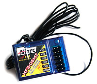 Hitec Receiver HFS-06MT 40MHz without Xtal