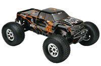 Savage XL 5.9 Gigante Truck Body Black/Orange 2.4GHz RTR
