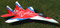 Sebart Mig-29 Red Star V2 3D EDF with 2 Three Axis Gyro (нажмите для увеличения)