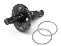 Centre Locked Diff. Shaft Blackout MT