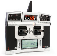 Spektrum DX10t AR10000 10-Channel DSM2 TX/RX Only 2.4GHz (нажмите для увеличения)