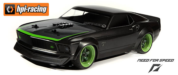 Радиоуправляемая машина Ford Mustang 1969 Vaughn Gittin Jr Sprint 2 Waterproof 2.4GHz RTR-X (HPI-109299) (нажмите для увеличения)