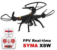 Syma X8W FPV Quadcopter with Camera 2.4GHz RTF