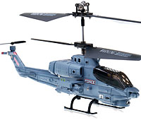 Syma S108G Bell AH-1 Super Cobra Micro Helicopter Grey with Gyro (нажмите для увеличения)