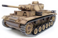 Panzerkampfwagen III Ausf. IR RC Tank 1:16 Metal with Smoke 2.4GHz (нажмите для увеличения)