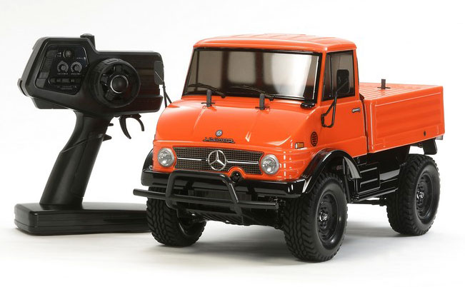 Радиоуправляемая машина Tamiya Unimog 406 Series U900 Orange CC-01 4WD 2.4GHz RTR (TAM-57843) (нажмите для увеличения)
