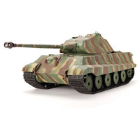 German King Tiger Production Turret Airsoft RC Battle Tank 1:16 with Smoke 2.4GHz (нажмите для увеличения)