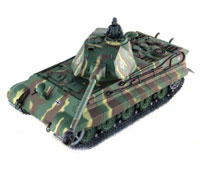 German King Tiger Production Turret Airsoft RC Battle Tank 1:16 PRO with Smoke 2.4GHz (нажмите для увеличения)