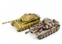 Zegan Russian T90 vs King Tiger Infrared Remote Control Battle Tank Set 2.4GHz (нажмите для увеличения)