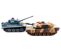 HuanQi 508C Tiger vs Leopard Infrared Remote Control Battle Tank Set 2.4GHz (нажмите для увеличения)