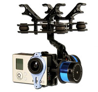 Tarot T-2D Two-Axis Brushless Gimbal for GoPro3 (нажмите для увеличения)