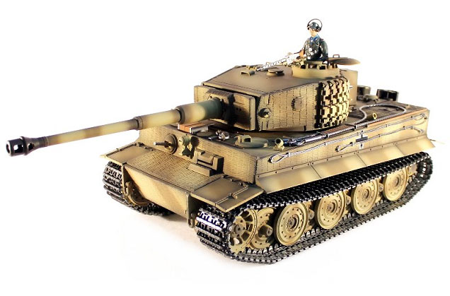 Радиоуправляемый танк Tiger 1 Late Version Airsoft RC Tank 1:16 Metal with Smoke 2.4GHz (TG3818-1D) (нажмите для увеличения)