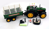 RuiFeng RC Tractor with Trailer 1:10