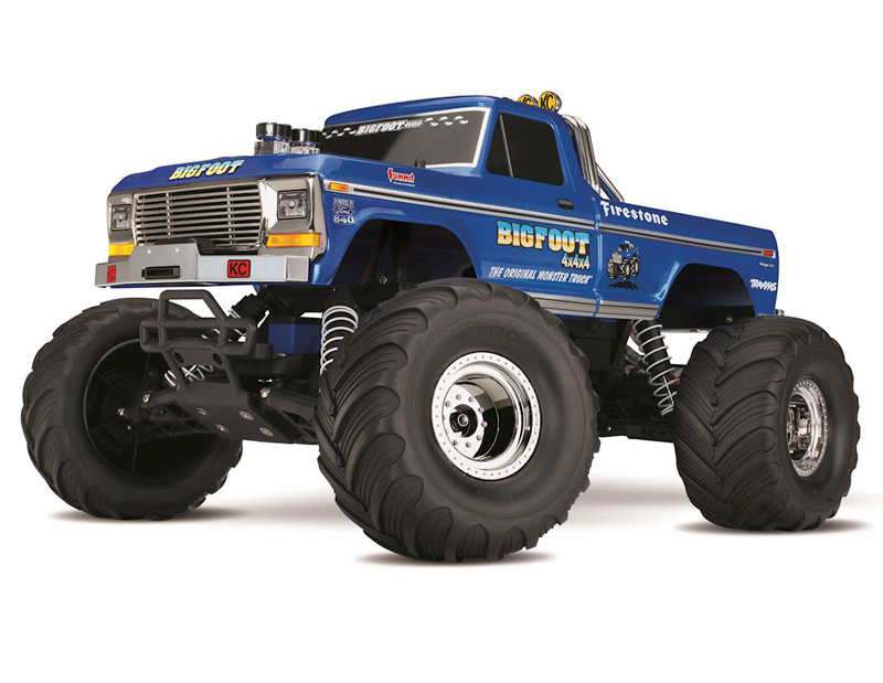 Радиоуправляемая машина Traxxas Bigfoot No.1 Original Monster 2WD with Fast Charger 2.4GHz RTR (TRA36034-1) (нажмите для увеличения)
