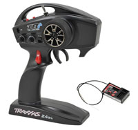 Traxxas TQi 2.4GHz 4-Ch Radio System with Link Wireless, TSM & Micro Receiver (нажмите для увеличения)