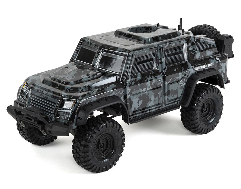 Радиоуправляемая машина Traxxas Tactical Unit TRX-4 4WD Crawler 2.4GHz RTR (TRA82066-4) (нажмите для увеличения)