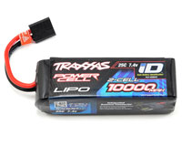 Traxxas Power Cell 2S LiPo Battery 7.4V 10000mAh 25C with iD Traxxas Connector