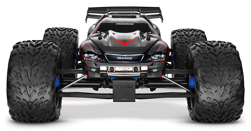 Радиоуправляемая машина Traxxas E-Revo Brushless Waterproof MXL-6s with TSM TQi, Telemetry without Battery and Charger 2.4GHz 4WD RTR (TRA56086-4) (нажмите для увеличения)
