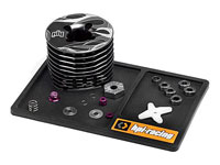 HPI/HB Racing Parts Tray 15x10cm Small Black