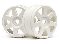 V7 Wheel White 83x42mm Vorza 2pcs