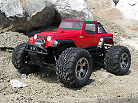 Jeep Wrangler Rubicon Clear Body WB225mm Savage Flux XS